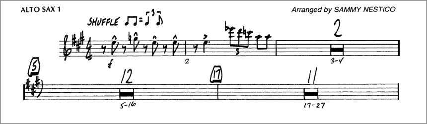 Creating a New Score from Transposed Parts in Finale or Sibelius