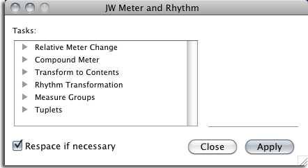 identifying rhythm and meter in an The meter of a song is indicated by its time signature the time signature consists of two numbers, stacked one on top of the other the top number represents the number of beats per measure, while the bottom number represents the note value for each beat.