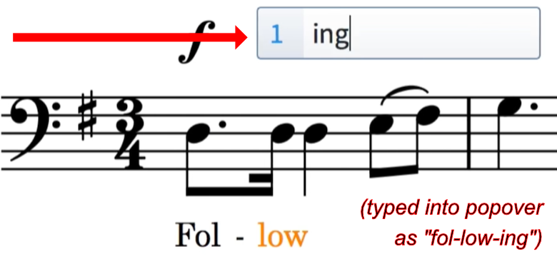 How to Work with Lyrics in Dorico | Write mode – OF NOTE