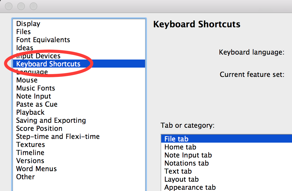 Create your own keyboard shortcuts in Sibelius – OF NOTE