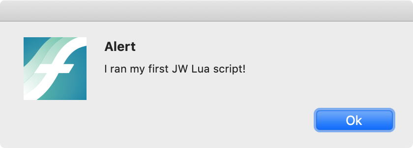 Finale: Getting Started With JW Lua – OF NOTE