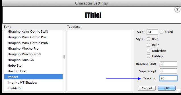 fin-character-settings