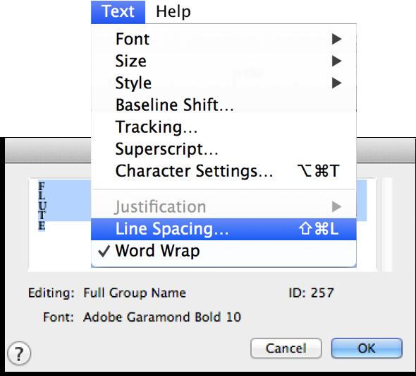 fin-line-spacing-menu