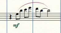 Score Markings in Finale